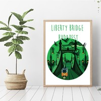 Szabadság híd poszter