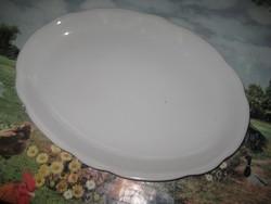 Ovális Zsolnay tál  , pajzspecsétes  , 36,5 x 26 cm