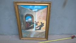 Nagy Pasztell kép vallásos (ifj Sztankő?)