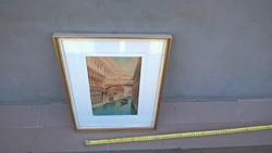 Andrea Biondetti egyik gyönyörű akvarellje