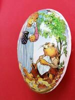 Régi papírmasé húsvéti tojás