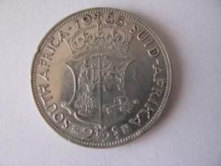 Brit Dél-Afrika ezüst shilling 1955.