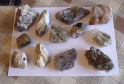 Ásványok, Kőzetek, Fosszíliák / 1,3kg - 2.