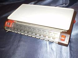 Régi mechanikus  Háztartási mérleg 10 kg. pontos.