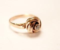 Régi masnis arany gyűrű.