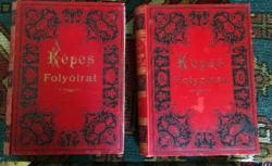A Vasárnapi Újság Képekben 1908.I.II.kötete