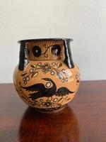 Antik Szecessziós Városlődi váza