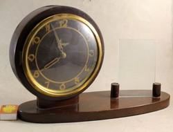 Antik kandalló vagy asztali óragyári óra fényképtartóval 166