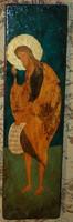 Keresztelő szent János - fára festett ikon