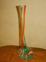 Több szinű Joska kristály váza.