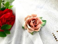 Ens porcelán rózsa