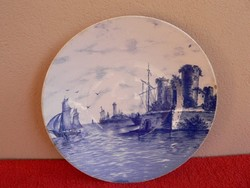Régi Villeroy&Boch porcelán falitányér