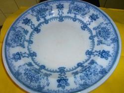 Háború előtti kereskedői jeggyel ( Salamon Weiss )angol porcelán  tányér