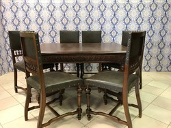 Antik bútor - antik asztal - antik szék
