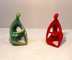 Török János (Mezőtúr, 1932 - Pécs, 1996) –  Meditáció figura pár