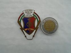 1956-os Szeged DAV. Vasas sport jelvény.