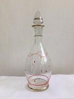 Retro likőrös üveg