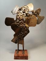 Kocsis Előd bronzszobor