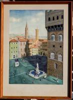 Ismeretlen festő: Firenze