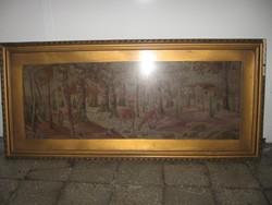 Antik  Gobelin  55 cm* 120 cm
