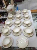 KPM porcelán kávés készlet