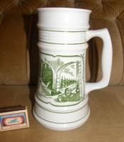 Alföldi porcelán sörös kancsó
