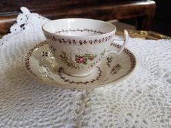 Angol antik New Hall porcelàn teàs duò