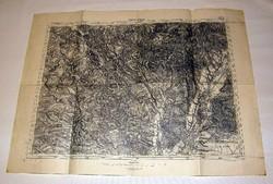 Katonai térkép 5273 Szász-régen 1916