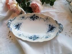 Villeroy&Boch Wallerfangen Fausta kék-fehér kínálótálka
