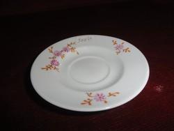 Alföldi porcelán, kávés pohár alátét, apró mintával.