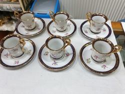 Német porcelán kávés készlet
