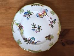 Antik Herendi Viktória mintás tányér, 1910-es évekből
