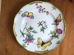 Antik Herendi Viktória mintás tányér, 1914