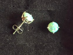 Zöld opál fülbevaló