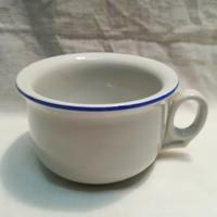 Régi vastag falú porcelán csésze