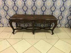 Antik bútor - reneszánsz asztal - Dohányzóasztal