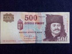 Nagyon szép Harmadik Magyar Köztársaság (1989-napjainkig) 500 Forint bankjegy 2010 / id 5997/