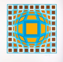 Victor Vasarely (1906-1997): ONDOCTO-X.