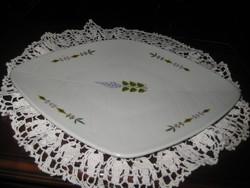 Zsolnay retró  asztal közép   , szép   állapot  , pajzspecsétes