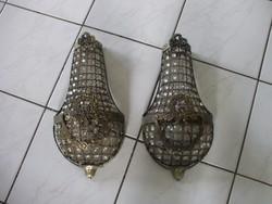 Antik falikar fali lámpa