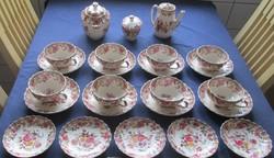 Copeland antik angol fajansz teáskészlet