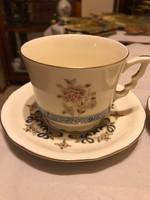 Zsolnay 2 db teás csésze+2 db hozzávaló alj nagyon ritka dekorral-kiváló állapotban!