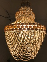 Retro Kagyló mennyezeti lámpa.