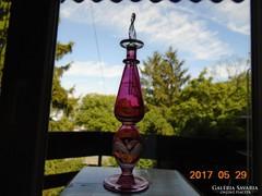 Kézműves  parfümös üveg