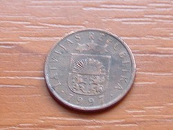 """LETTORSZÁG 1 SANTIMS 1997 """"The Royal Coin"""" Norvégia ( KEDVEZMÉNY LENT!!)"""