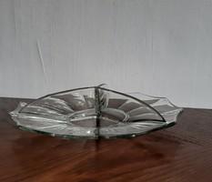 Üvegből készült tálaló tál eladó.
