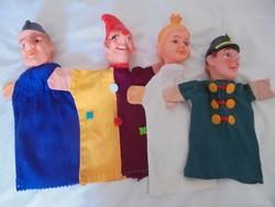 4 darab retro báb