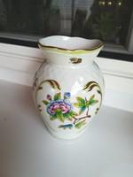 Herendi viktóriamintás öblös váza