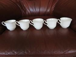 Villeroy & Boch kávés csésze, pohár 5 darab