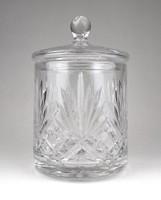 1A628 Nagyméretű fedeles kristály bonbonier